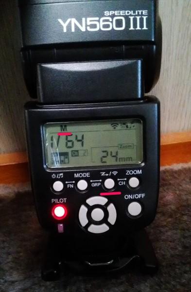 Sony α6000でYONGNUO製のストロボを取り付けた様子その6