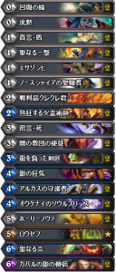 Aggrokiller Priest Top 10 Legend NA