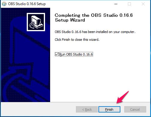 OBS Studioのインストール_07