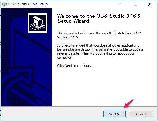 OBS Studioのインストール_03
