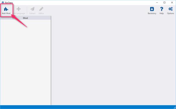 「Add Mod」をクリック