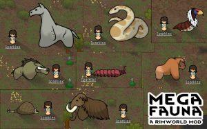 Megafaunaで追加される巨大動物