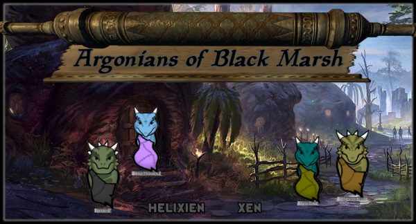 Argonians of Blackmarsh