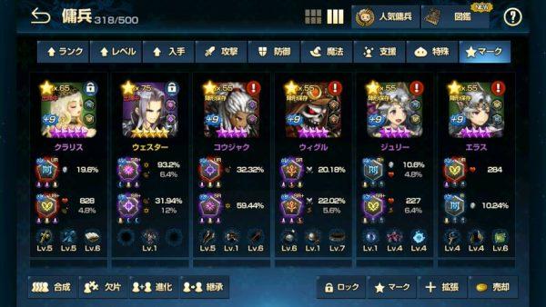 ワールドボス使用キャラクター5