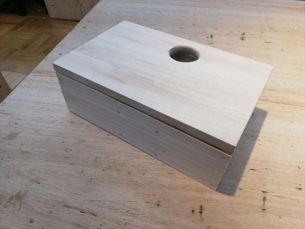 ハムスター巣箱の組み立て